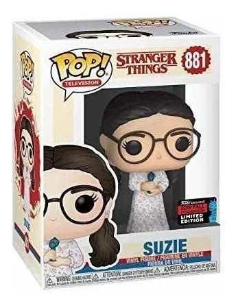Funko Pop Suzie - Stranger Things - Nycc 19 #881