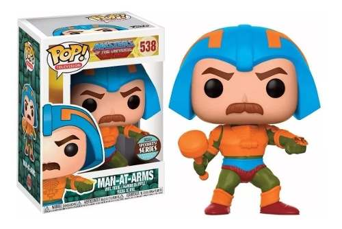 Funko Pop! Masters Of The Universe Man At Arms #538