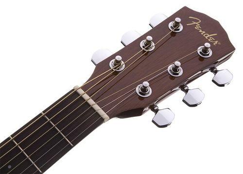 Violão Fender Cd-60 Ce Cd60 Dreadnought Natural Com Case