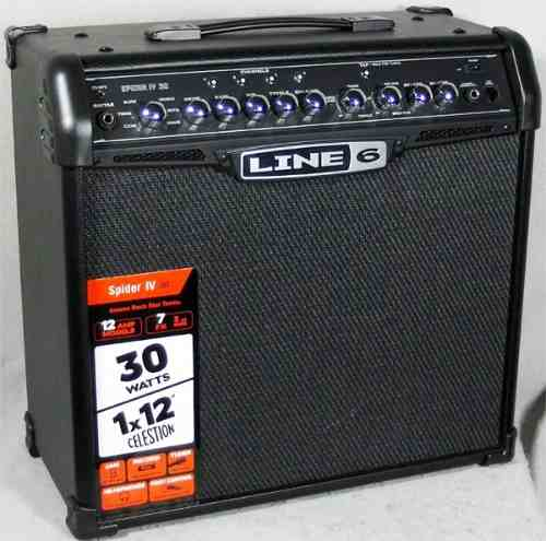 Amplificador Guitarra Line 6 Spider Iv 30w