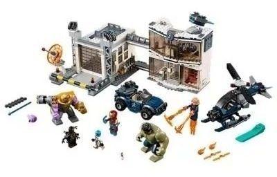 Lego Marvel 76131 Super Heroes Base Dos Vingadores Com Miniaturas