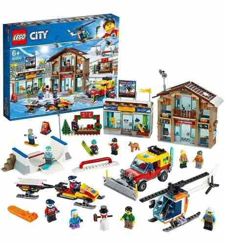 Lego 60203 City Ski Resort - Resort De Esqui