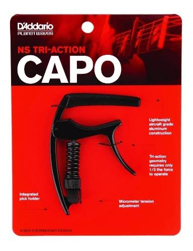 Capotraste Daddario Planet Waves Tri Action Pwcp09