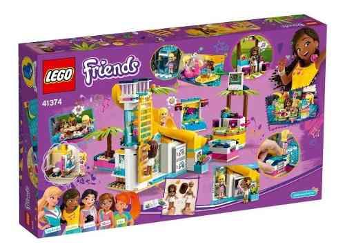 Lego Friends A Festa Na Piscina Da Andrea 468 Peças 41374