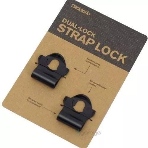 Trava Strap Lock P Correias Dual-lock D'addario Pw-dlc-01