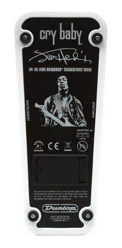 Pedal Dunlop Cry Baby Jimmy Hendrix Jh1d Original + Frete
