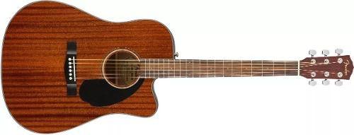 Violão Fender Dreadnought Cd-60 Sce All Mahogany