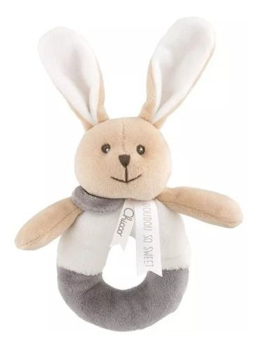 Chocalho Coelhinho Doudou Bunny Chicco