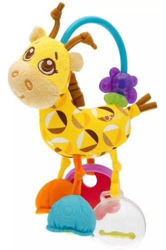 Chocalho E Mordedor Sra Girafa Primeiras Atividades (3m+)