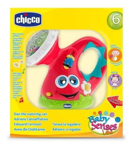 Brinquedo Regador Feliz Chicco Vermelho Baby Senses (6-36m)