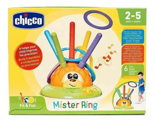 Jogo - Lança Argolas - Mister Ring - Chicco
