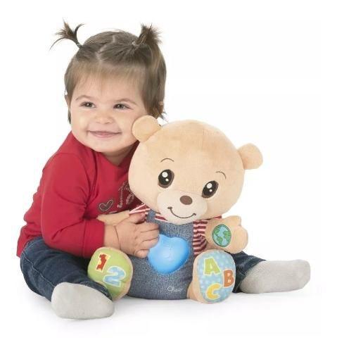 Brinquedo Educativo Bilíngue Tedd Ursinho Das Emoções Chicco