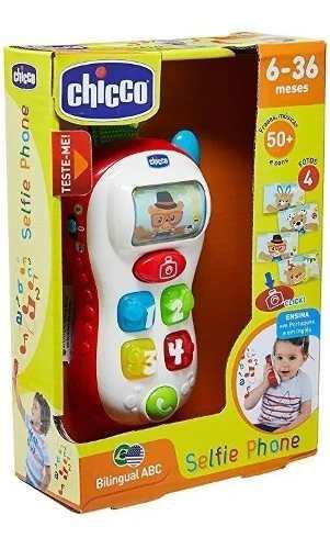 Brinquedo Belingual Abc Selfie Phone Chicco 96110