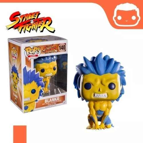 Pop! Funko Street Fighter Blanka 140 - Exclusive