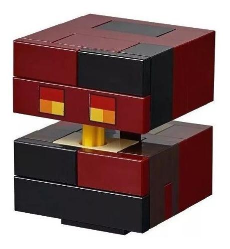 Lego Minecraft Grande Esqueleto Com O Cubo Magma 21150