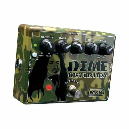 Pedal Dunlop - Mxr Dime Distortion - Dd11 Dimebag Darrel