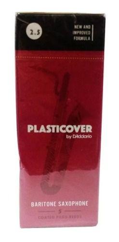 Palhetas Plasticover Saxofone Barítono Nº 2 (5 Unidades)