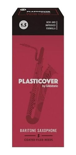 Palheta Para Sax Baritono Plasticover #1.5