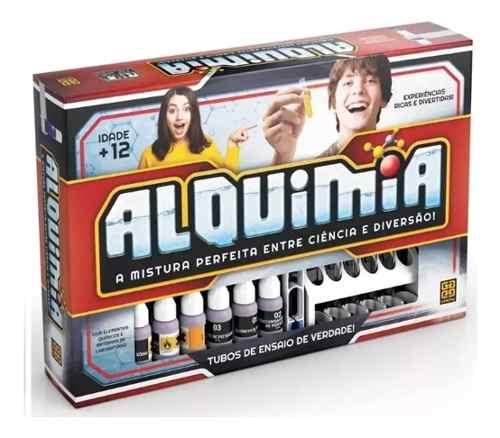 Kit Alquimia Experiencias Químicas De Verdade Original Grow