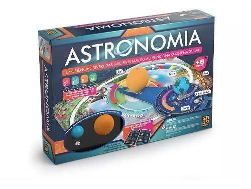 Jogo Kit De Cientiscas - Astronomia Grow + Frete