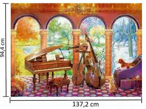 Puzzle Quebra Cabeça Grow As Quatro Estações P4000 Vivaldi