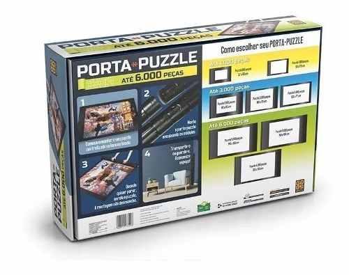 Porta Puzzle Ate 6000 Pecas - Grow