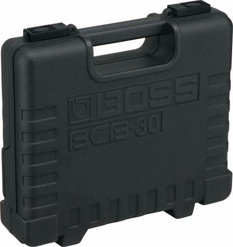 Case Pedal Board Boss Bcb-30 P/ Três Pedais + Cabo 4 Pontas