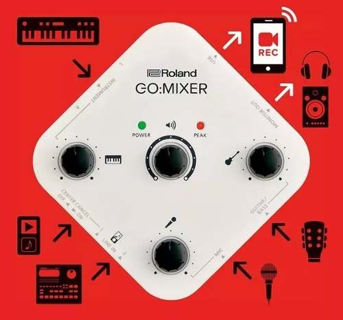 Interface Audio Roland Go Mixer Para Smartphones