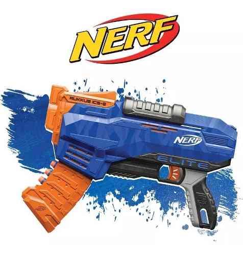 E3058 Nerf El Rukkus Com Pente 8 Dardos / Hasbro
