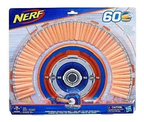 Teste De Mira Nerf Com 60 Dardos - Hasbro E2282