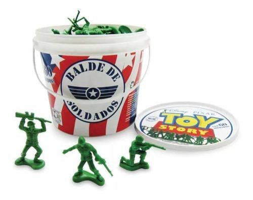 Balde De Soldadinhos Com 60 Peças Toy Story - Toyng 26772