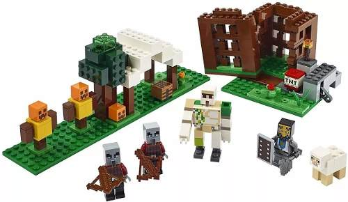Lego 21159 Minecraft - The Pillager Outpost