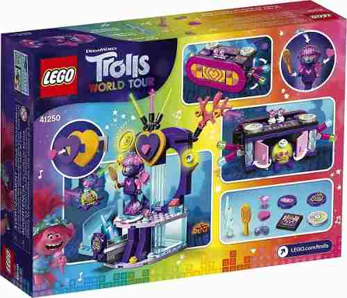Lego 41250 Trolls World Tour Festa De Dança Techno No Recife