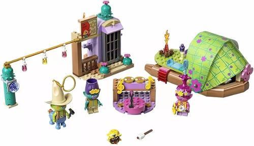 Lego 41253 Trolls World Tour Aventura De Jangada No Pântano