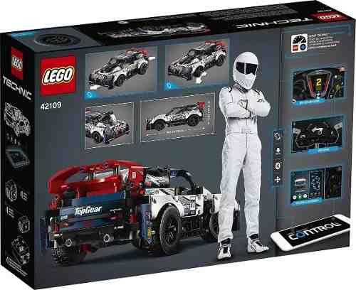 42109 Lego Technic - Carro De Rali Top Gear Controlado Por A