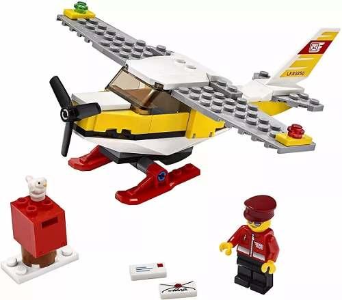 60250 Lego City Avião Correio Original