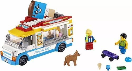 Lego 60253 City Van De Sorvetes Original + Frete