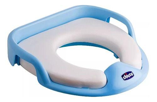 Redutor De Vaso Sanitário Soft Azul/ Branco 18m+