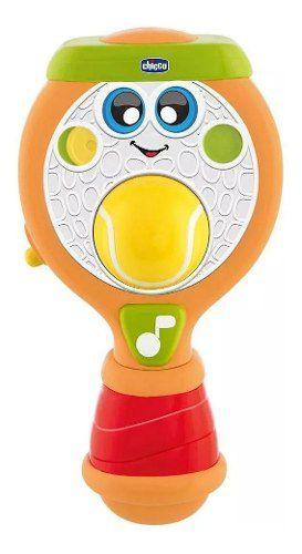 Brinquedo Músical Roger, O Tenista - Chicco