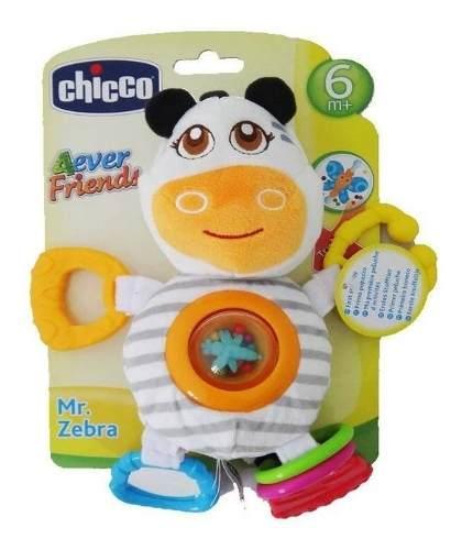Chocalho Zebra Primeiras Atividades - Chicco