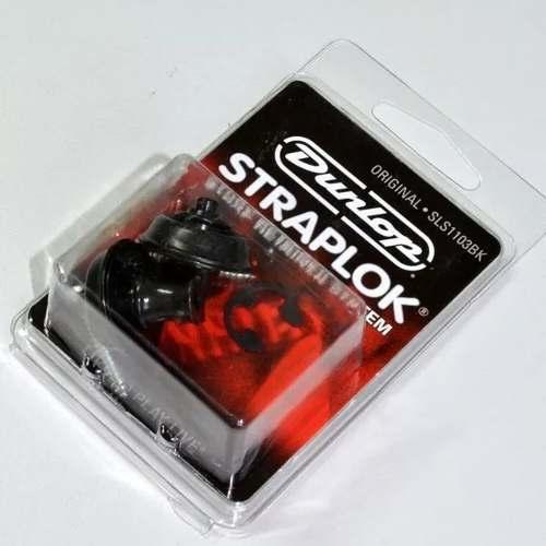 Straplok Original Design Dunlop Preto Guitarra Sls1103bk