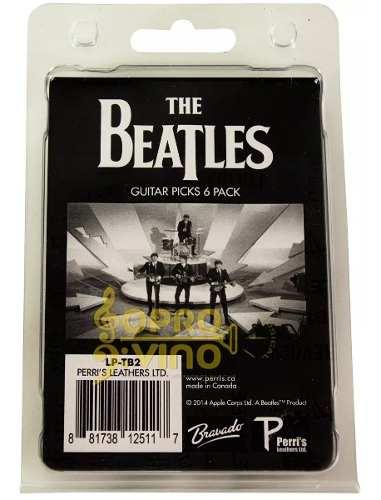 Palheta Violão Guitarra The Beatles Tb2 Pct 6 Unidades 073mm