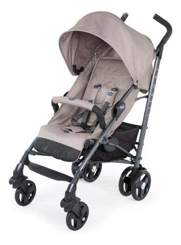 Carrinho De Bebê Chicco Lite Way 3 Basic Dark Beige Até 22kg