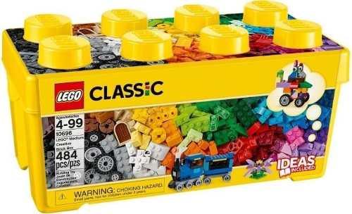 Lego Classic 10696 Caixa Media De Peças Criativas 484 Peças
