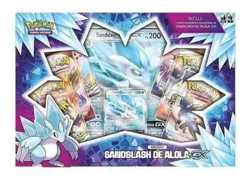 Pokemon Box Colecao Sandslash De Alola-gx