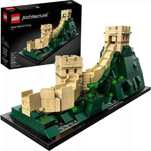 Lego Architecture - Grande Muralha Da China 21041- 551 Peças