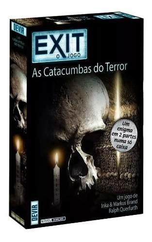 Exit As Catacumbas Do Terror Jogo De Cartas Devir