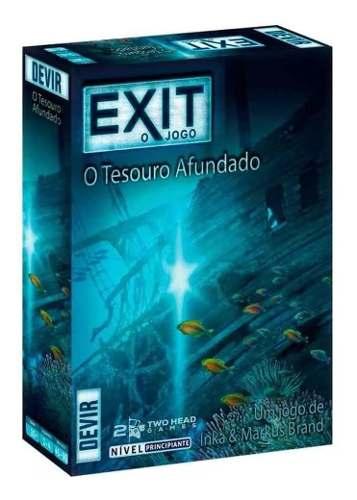 Exit O Tesouro Afundado Jogo Cartas Escape Room Portugues