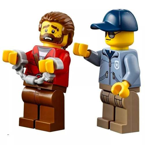 Lego City 60176 - Fuga No Rio Furioso