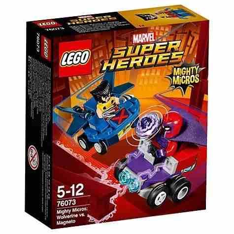 Lego Marvel Super Heroes Wolverine Vs Magneto 76073